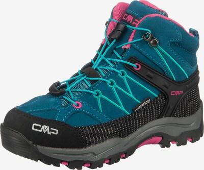 CMP Wanderschuh 'Rigel Mid WP' in blau / pink / schwarz, Produktansicht