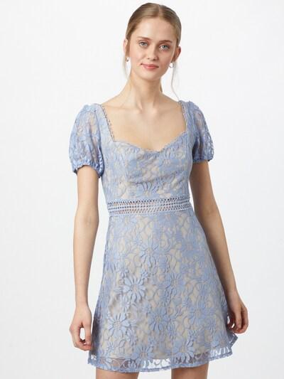 Love Triangle Kleid 'ALICE' in beige / hellblau, Modelansicht