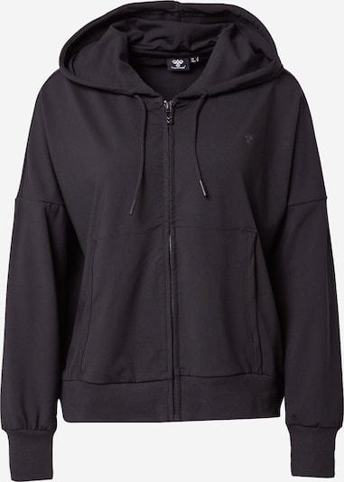 Hummel Sweatjacke in schwarz, Produktansicht