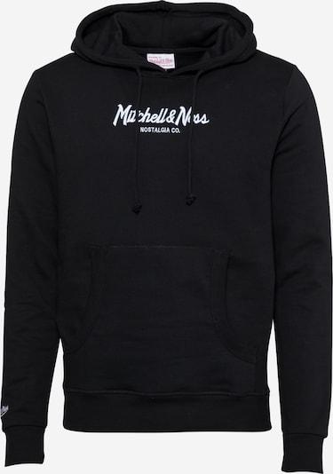 Mitchell & Ness Sweatshirt in Black / White, Item view