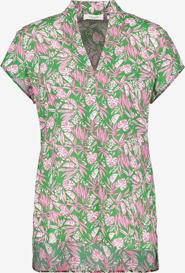 GERRY WEBER Blouse in de kleur Groen / Rosa / Wit, Productweergave