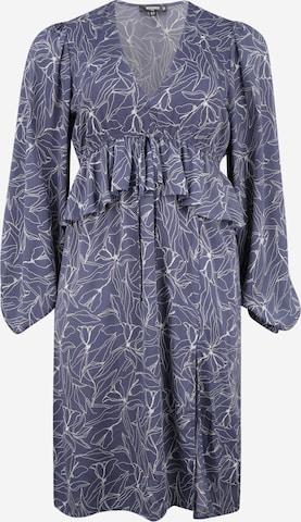 Missguided Plus Šaty - Modrá