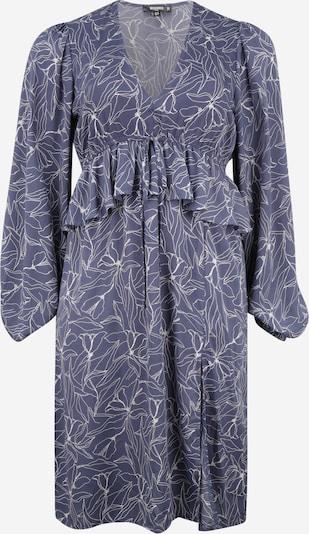 Missguided Plus Robe en bleu foncé / blanc, Vue avec produit