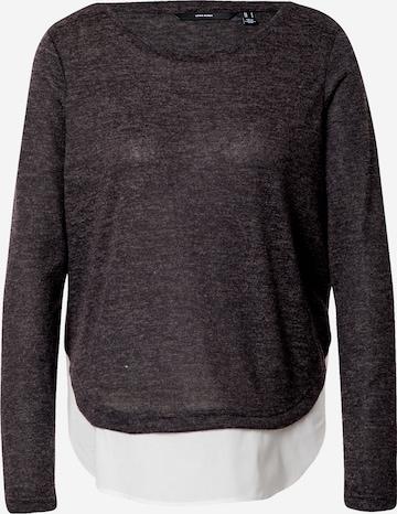 VERO MODA Sweater 'BIRGIT' in Grey