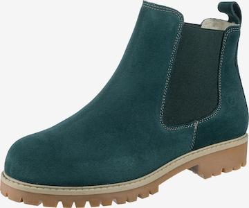 Paul Vesterbro Chelsea Boots in Grün