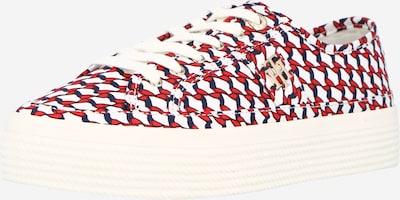 TOMMY HILFIGER Nízke tenisky - tmavomodrá / červená / biela, Produkt
