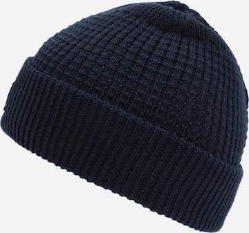 KnowledgeCotton Apparel Müts 'LEAF', värv sinine