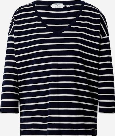 TOM TAILOR T-Shirt in blau / weiß, Produktansicht