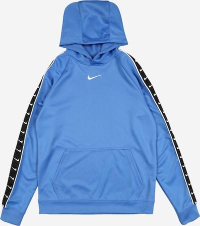 Nike Sportswear Bluza w kolorze podpalany niebieski / czarny / białym, Podgląd produktu