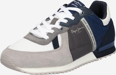 Pepe Jeans Nízke tenisky 'Tinker Zero 21' - tmavomodrá / sivobéžová / tmavosivá / biela, Produkt