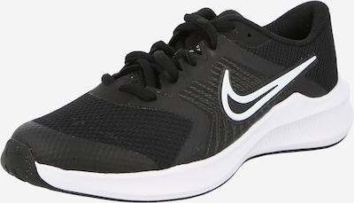 NIKE Спортни обувки 'Downshifter' в черно / бяло, Преглед на продукта