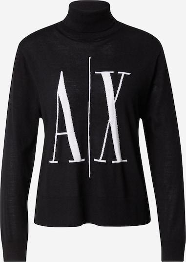 ARMANI EXCHANGE Пуловер в черно / бяло, Преглед на продукта