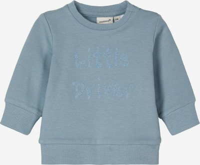 NAME IT Bio-Baumwoll Sweatshirt in blau, Produktansicht