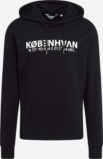!Solid Sweatshirt 'Maru' in de kleur Zwart / Wit: Vooraanzicht