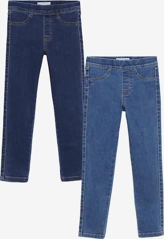 MANGO KIDS Jeans i blå