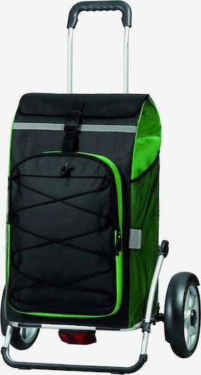 Andersen Shopper Trolley 'Royal Shopper Plus Fado' in de kleur Groen / Zwart, Productweergave