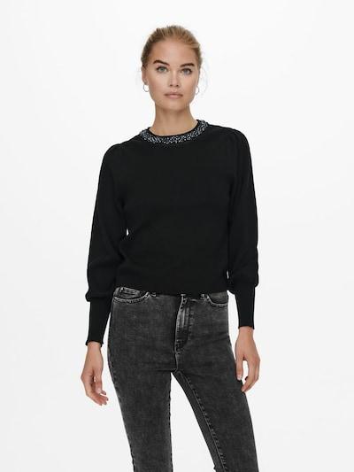 ONLY Pullover in schwarz: Frontalansicht