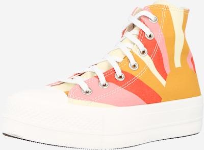 CONVERSE Високи маратонки 'CTAS LIFT HI' в жълто / оранжево / праскова / червено, Преглед на продукта