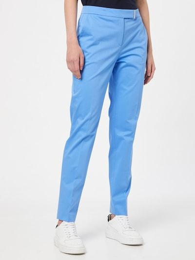 világoskék HUGO Ráncos nadrág 'Hisuri', Modell nézet