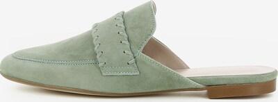 Gianluca Pisati Damen Pantolette Cinzia in hellgrün, Produktansicht