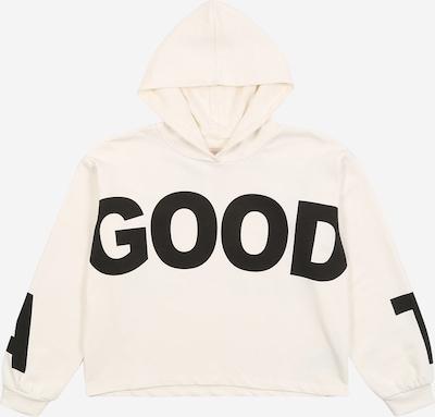 KIDS ONLY Sweatshirt 'KONKimmie' in elfenbein / schwarz, Produktansicht