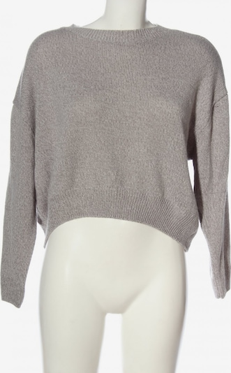 H&M Rundhalspullover in S in hellgrau, Produktansicht