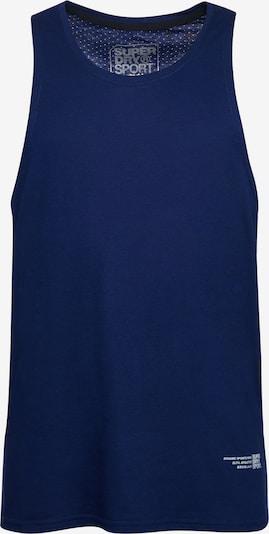 Superdry Functioneel shirt in de kleur Donkerblauw / Lichtgrijs, Productweergave