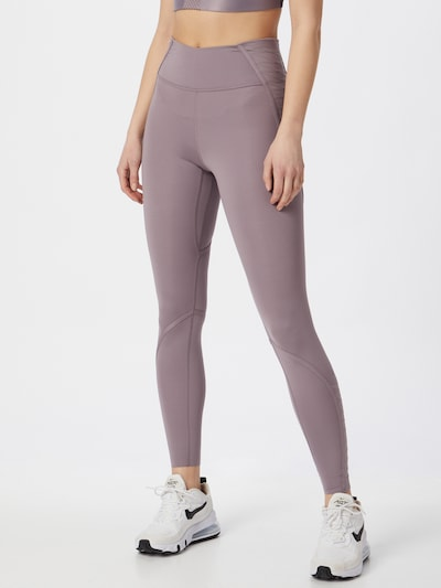 NIKE Tights 'ONE LUXE' in lila, Modelansicht