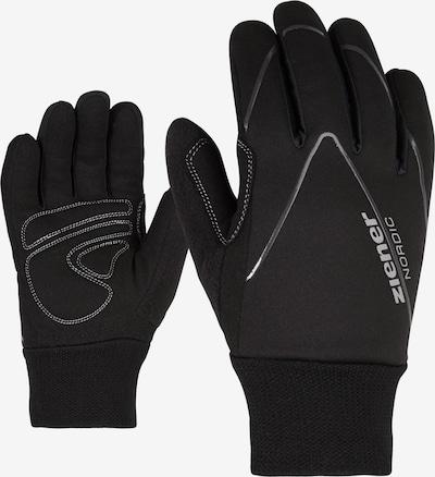 ZIENER Langlaufhandschuh 'UNICO Junior' in schwarz, Produktansicht