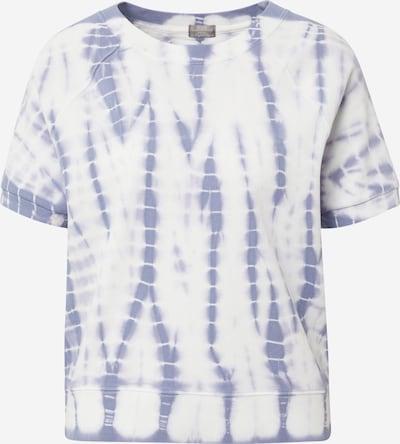 GAP Тениска в опушено синьо / бяло, Преглед на продукта