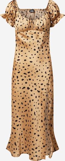 Parallel Lines Kleid in beige / schwarz, Produktansicht