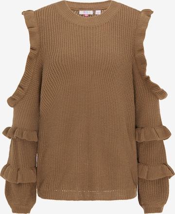 IZIA Pullover in Braun