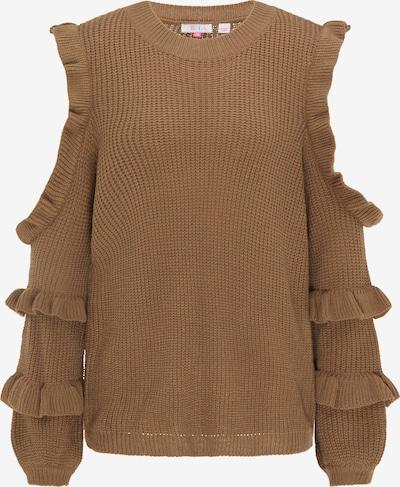 IZIA Pullover in braun, Produktansicht