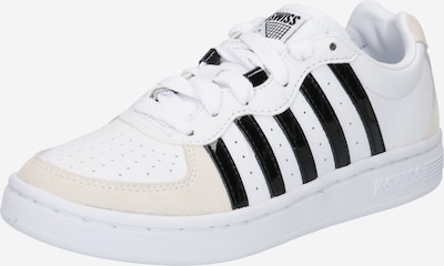 K-SWISS Sneaker 'Westcourt' in schwarz / weiß, Produktansicht