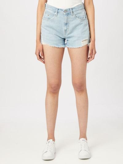 Tommy Jeans Shorts in hellblau, Modelansicht