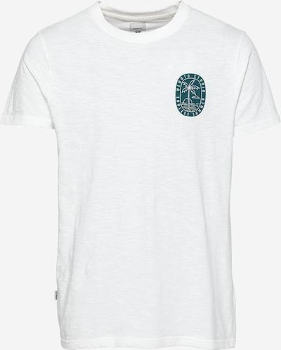 Wemoto Shirt 'ENDLESS' in smaragd / weiß, Produktansicht