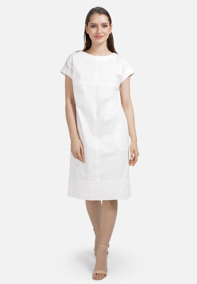 HELMIDGE Etuikleid in weiß, Modelansicht