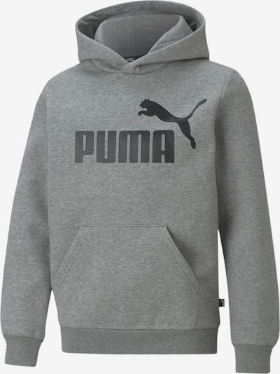 PUMA Sweatshirt in graumeliert / schwarz, Produktansicht