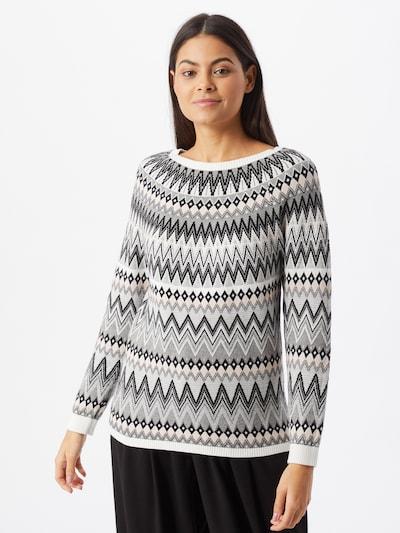 Megztinis iš ESPRIT , spalva - smėlio / pilka / juoda / balta: Vaizdas iš priekio