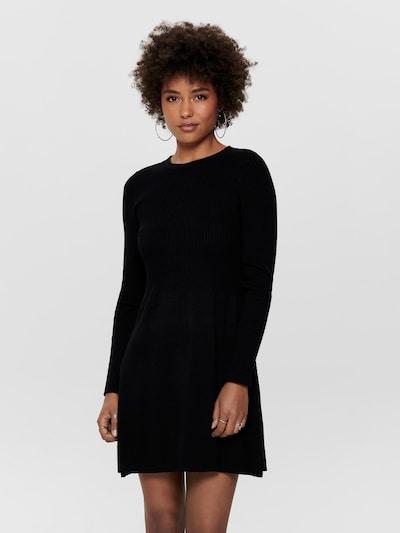 ONLY Knit dress 'ALMA' in Black, View model