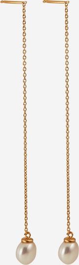 Pernille Corydon Jewellery Oorbellen 'Lagoon' in de kleur Goud / Parelwit, Productweergave