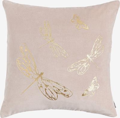 Linen & More Kissenhülle in gold / rosa, Produktansicht