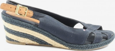 TOMMY HILFIGER Plateau-Sandalen in 40 in blau / wollweiß, Produktansicht