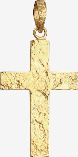 KUZZOI Anhänger Kreuz in gold, Produktansicht