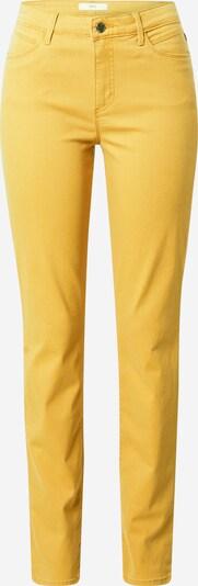 BRAX Jeans 'Shakira' in de kleur Goudgeel, Productweergave