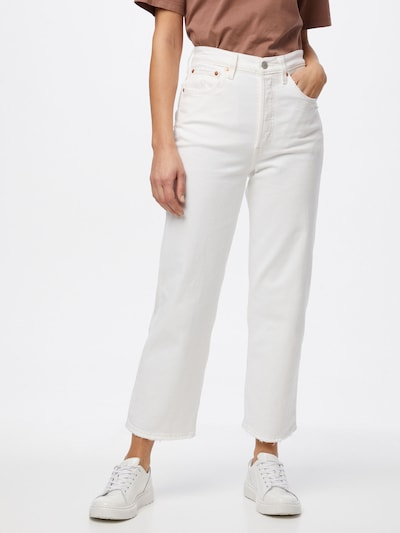 LEVI'S Jeans 'RIBCAGE' in White denim, View model