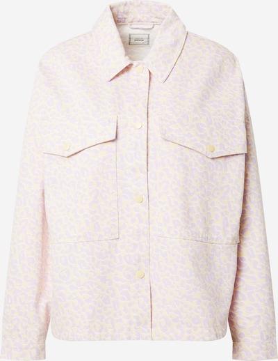 őszibarack / pasztell-rózsaszín / fehér Pimkie Átmeneti dzseki 'TOMASILEO', Termék nézet