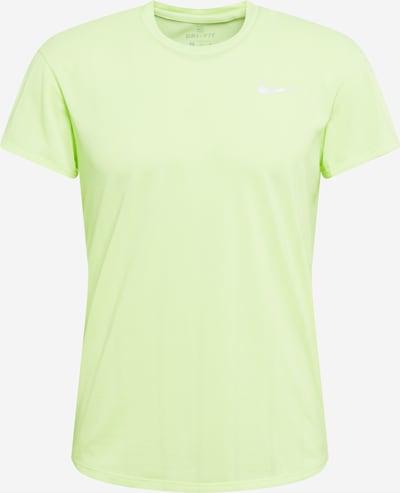 NIKE Funkcionalna majica 'Court Challenger' | neonsko zelena barva, Prikaz izdelka