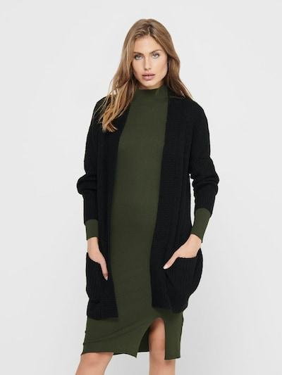 JDY Knit Cardigan 'Megan' in Black, View model