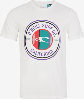 O'NEILL Póló 'Club Circle' - fehér